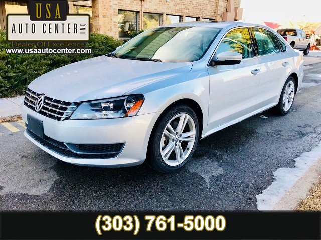 2015 Volkswagen Passat TDI SE 6A w/ Sunroof 6-Speed Automatic