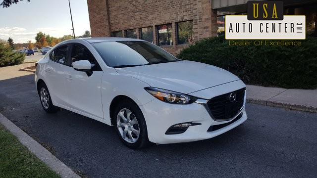 2017 Mazda MAZDA3 i Sport AT 4-Door 6-Speed Automatic