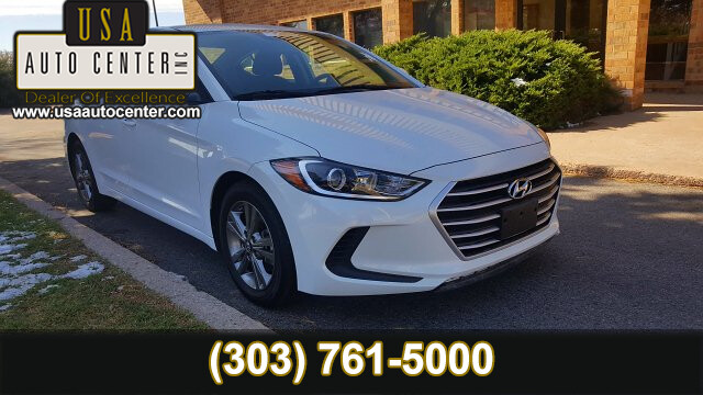 2018 Hyundai Elantra SEL 6-Speed Automatic