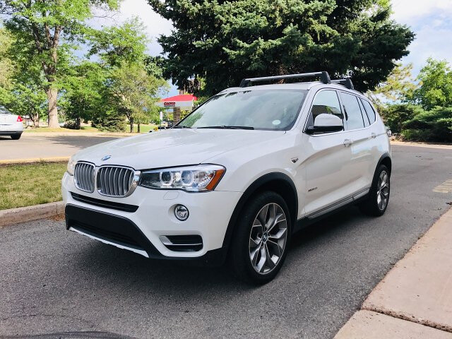 2016 BMW X3 xDrive28i 8-Speed Automatic