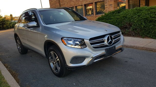 2018 Mercedes Benz GLC-Class GLC300 4MATIC 9-Speed Automatic